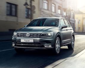Надежный внедорожник Volkswagen Tiguan